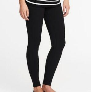 Liz Lange black maternity leggings